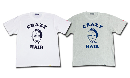 "CRAZY HAIR ""ZORG"" Tシャツ"